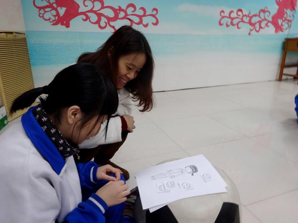 图二 学生自画像