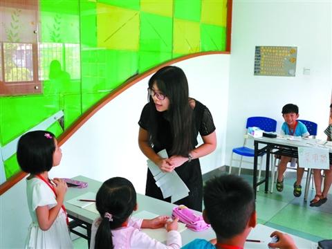 8月11日,南海大沥七一空间家庭综合服务中心开展了一场青少年活动。
